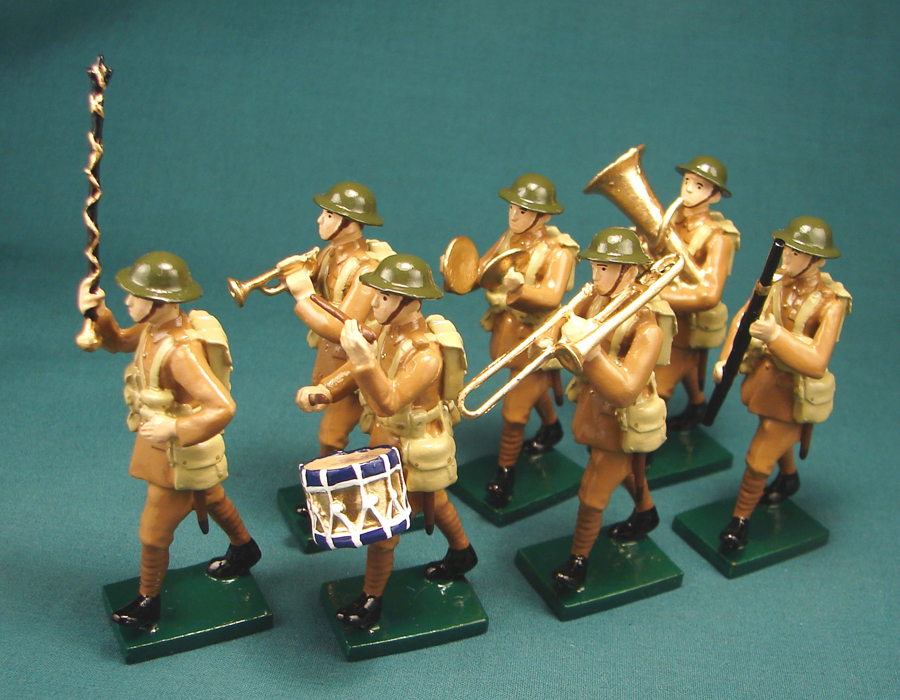 299 - Military Band, British Infantry, WWI