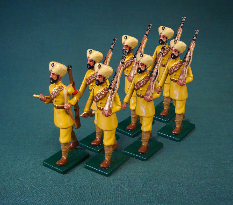 349 - Indian Infantry, British Army, WWI