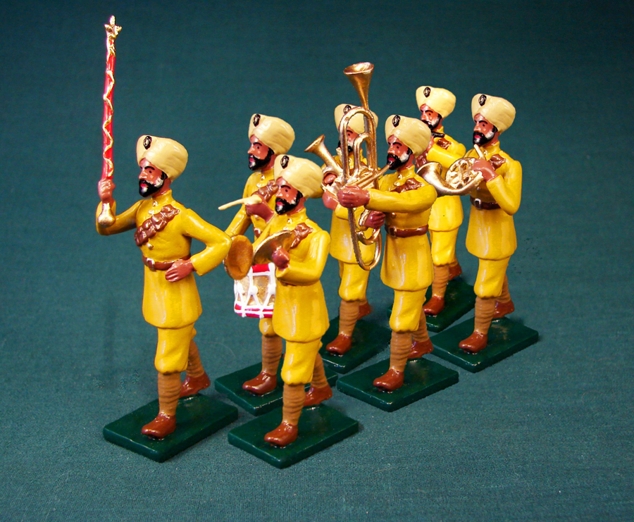 350 - Indian Military Band, British Army, WWI