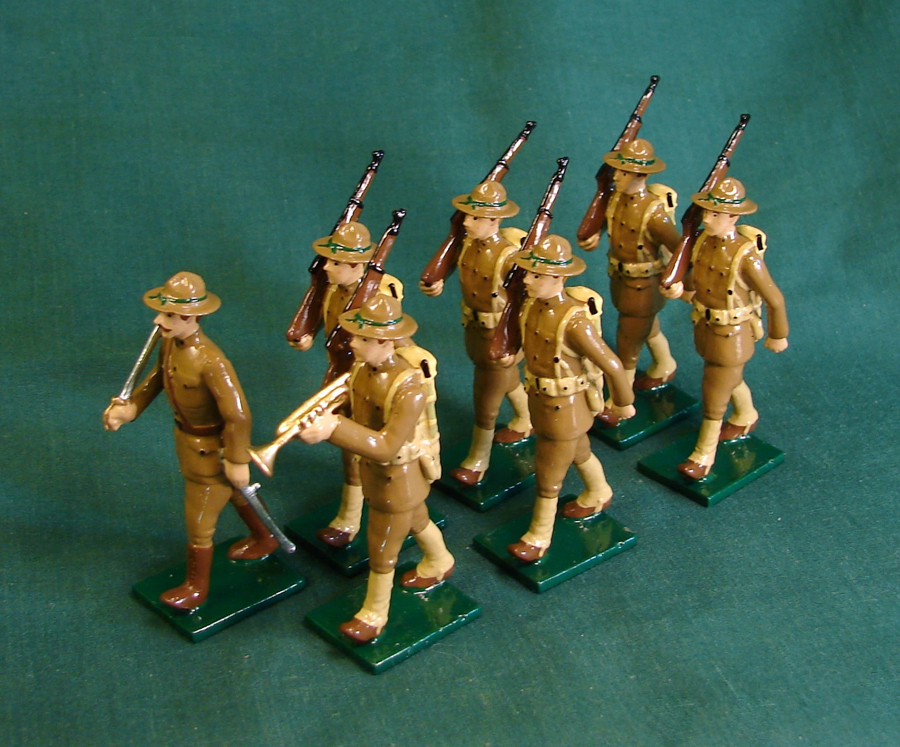 354 - American Doughboys, US infantry , WWI