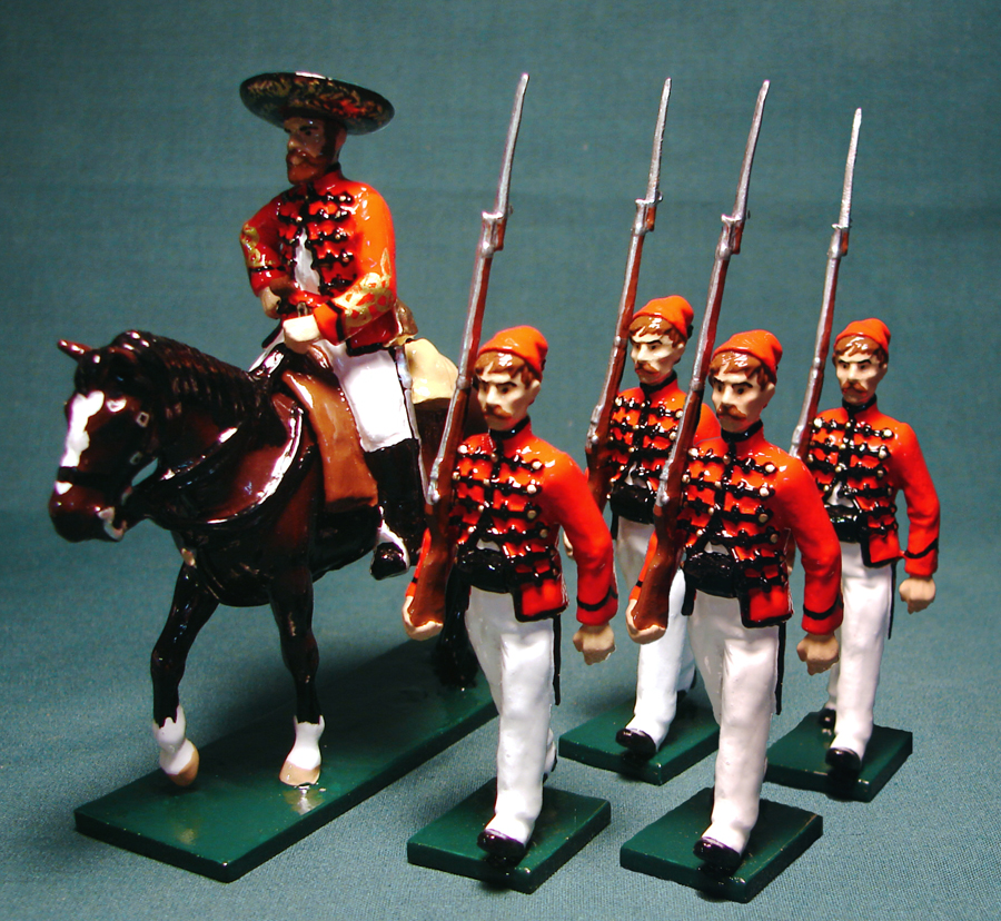 195 - French Counter-Guerrillas, Mexico, 1863 (RETIRED)
