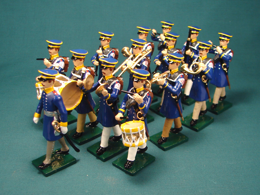 305 - Military Band, Prussian Landwehr Infantry,1813